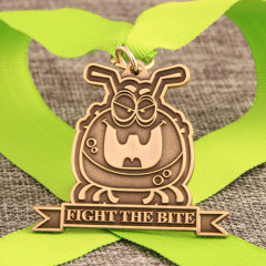 Fight The Bite Custom Made Medals