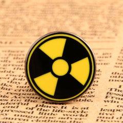 Custom Radiation Symbol Pins