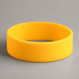 Yellow Blank Cheap Wristbands