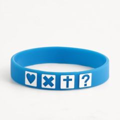 Four Square Shapes Cheap Wristbands