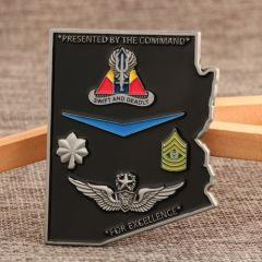 2-13th AVN REGT Air Force Challenge Coins