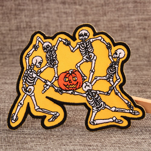 Halloween Sewn Patches
