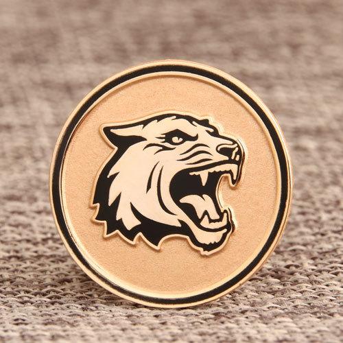 Leopard Custom Enamel Pins