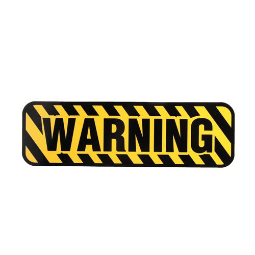 Warning Custom Stickers