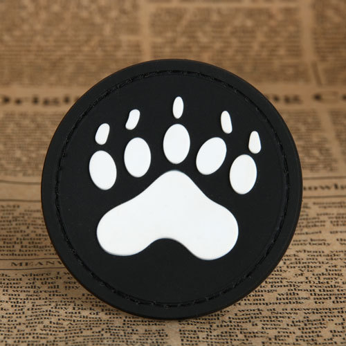 Bear's paw PVC Patches