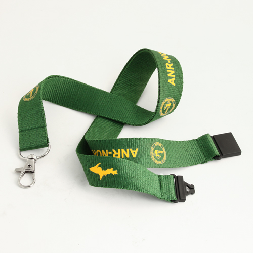 green breakaway lanyards