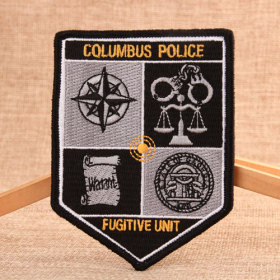 Columbus Police Military Velcro Patches