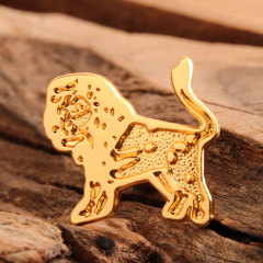 Lion Custom Made Pins