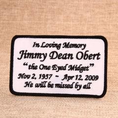 Jimmy Dean Obert Custom Patches Online