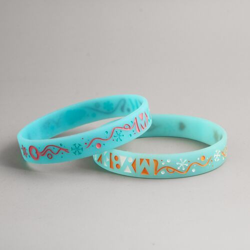 Cheerful Christmas Awesome Wristbands