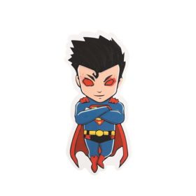 Evil Superman Custom Stickers