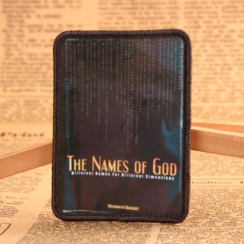 The Names of God Custom Patches