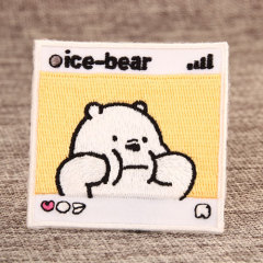 Ice Bear Custom Made Patches