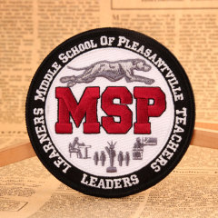 Middle School Of Pleasantville Teachers Custom Patches