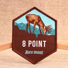 8 Point Custom Patches No Minimum