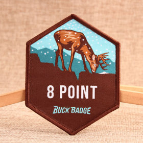 8 Point Custom Patches No Minimum