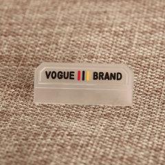 Vogue Brand PVC Label