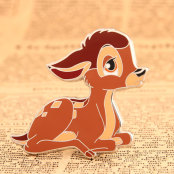 Bambi Custom Lapel Pins