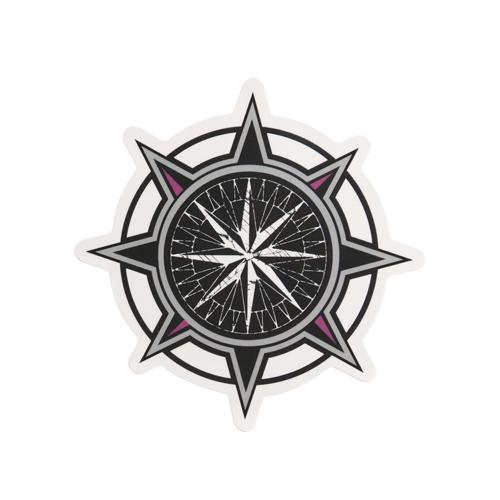 Compass Custom Stickers