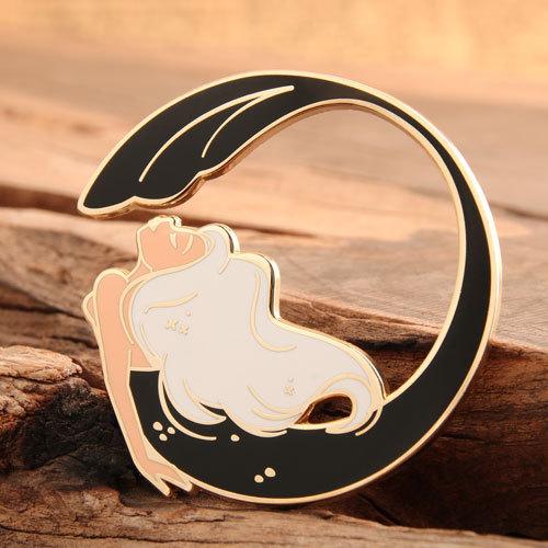 Mermaid Custom Lapel Pins