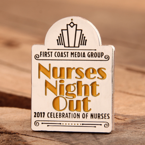 Nurses Night Out Lapel Pins