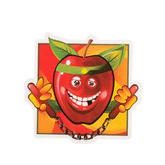 Apple Nunchucks Custom Stickers