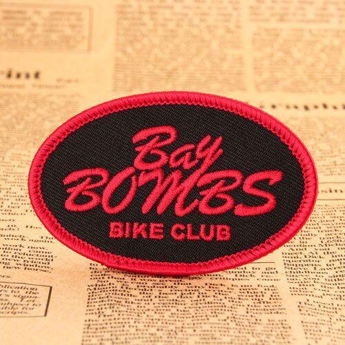 Bay Bombs Bike Club Custom Patches