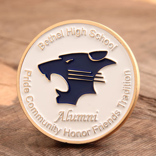Bethel High School Personalized Coins