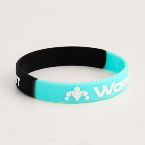Work Out Printed Wristbands Cheap