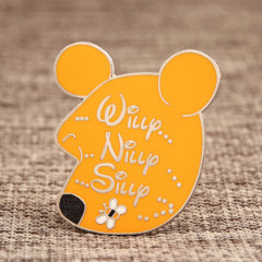 Custom Winnie Enamel Pins