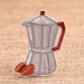 Coffeepot Custom Patches No Minimum