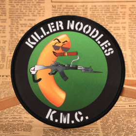 Killer Noodles Custom Made Patches