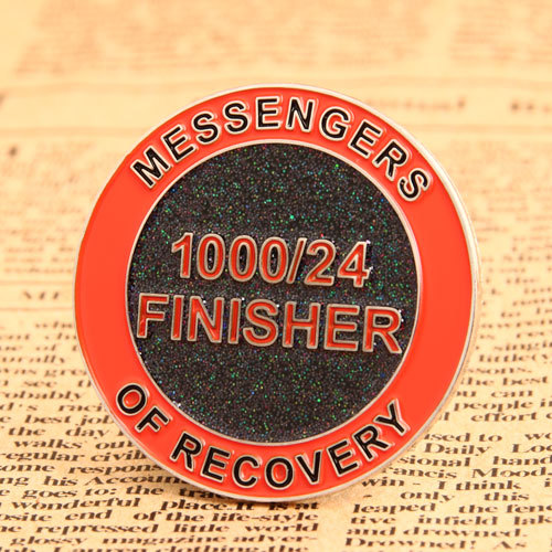 Finisher Enamel Lapel Pins