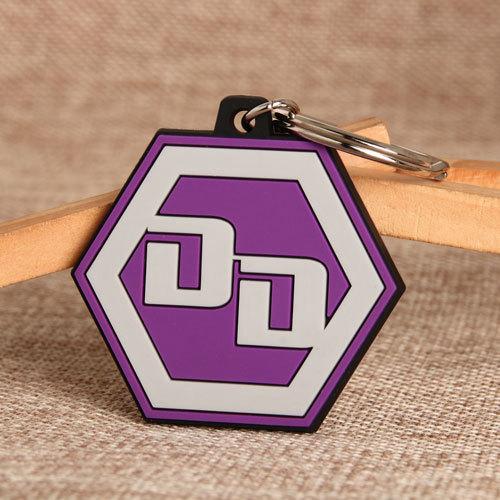 DD PVC Keychain