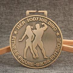 Bodybuilding Race Medals