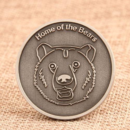 Dolores High School Challenge Coins
