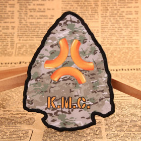 K.M.C Custom Military Patches No Minimum Order