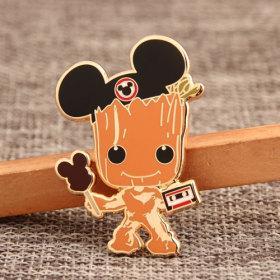 Custom Mickey Fans Pins
