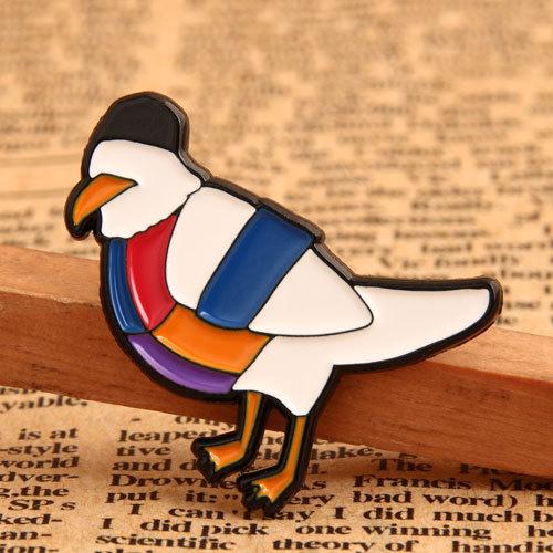 Pigeon Custom Enamel Pins