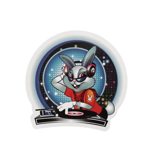 DJ Rabbit Custom Stickers