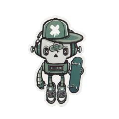 Skull Robot Custom Stickers