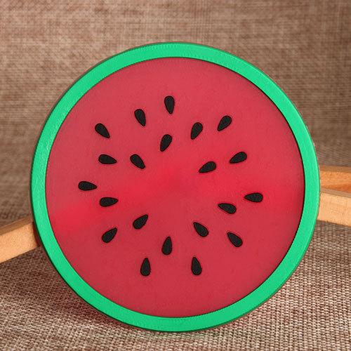 Watermelon PVC Coaster