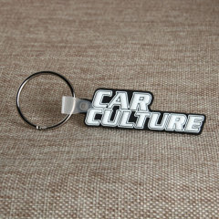 Car Culture PVC Keychain