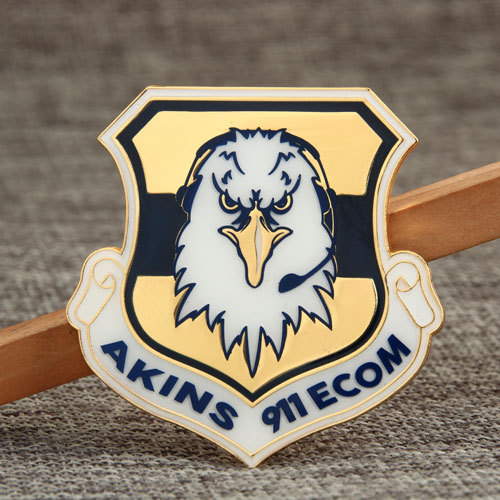 Custom Enamel School Badge  Pins
