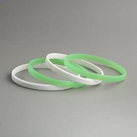 Tiny Silicone Wristbands No Min.