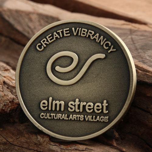 Elm Street Custom Challenge Coins