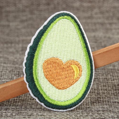 Avocado Custom Iron On Patches