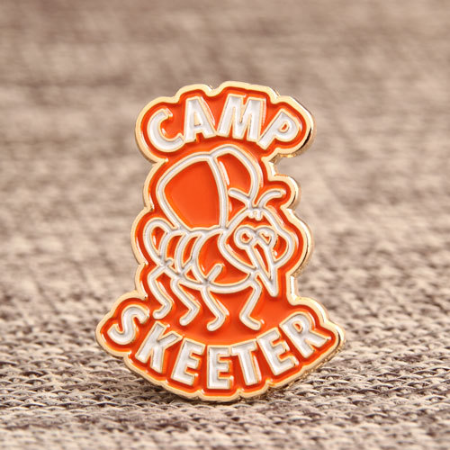 Camp Skeeter Enamel Pins