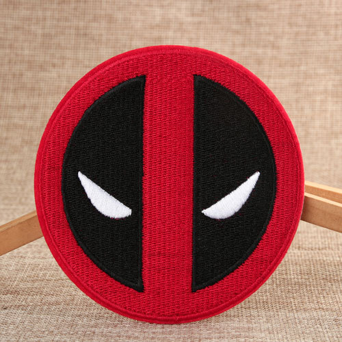 Deadpool Custom Sew On Patches
