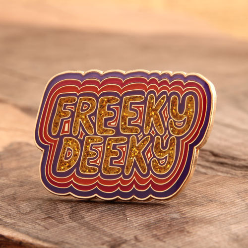 Freeky Deeky Lapel Pins